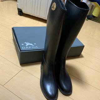ダフナ(Dafna)のダフナ レインブーツ ブラック(レインブーツ/長靴)