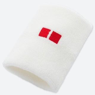 ユニクロ(UNIQLO)のUNIQLO ユニクロ  テニスリストバンド 錦織圭モデル ホワイト(その他)