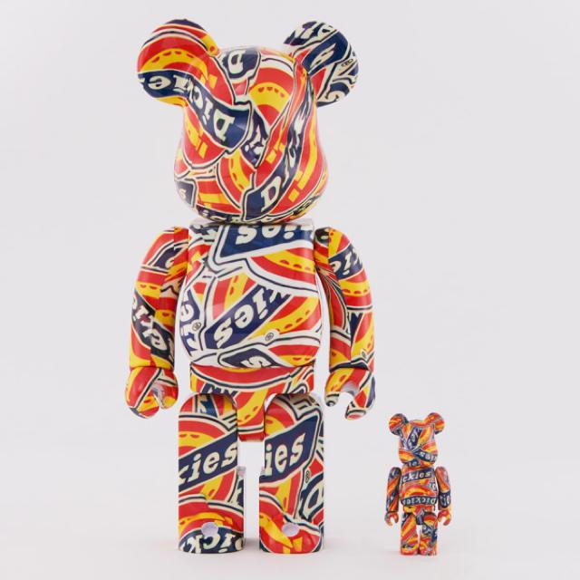 MEDICOM TOY(メディコムトイ)のBE@RBRICK DICKIES 95 anniversary エンタメ/ホビーのおもちゃ/ぬいぐるみ(キャラクターグッズ)の商品写真