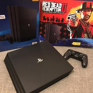 PlayStation4 - PlayStation®4 Pro RDR2 ソフトなし