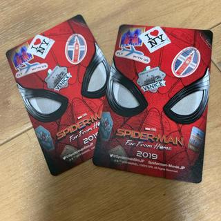 マーベル(MARVEL)のスパイダーマン ファーフロムホーム チケット2枚(洋画)