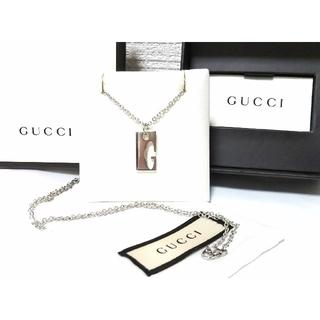 グッチ(Gucci)のGUCCI/グッチ Gモチーフ/Gカット/Gロゴ ネックレス/ペンダント (ネックレス)