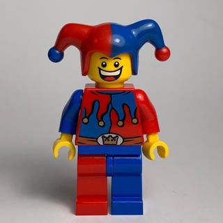 レゴ(Lego)の【未組立】LEGO ミニフィグ 道化師 ジェスター ピエロ(知育玩具)
