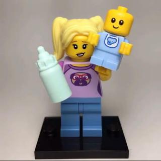 レゴ(Lego)のLEGO ミニフィグ ベビーシッターと赤ちゃん ミニフィギア(知育玩具)