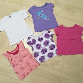 carter's - アメリカの可愛い女の子用Tシャツ5枚セット  サイズ90