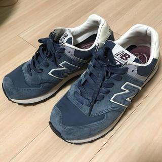 ニューバランス(New Balance)の美品☆ New balance 574 ネイビー 23.5㎝(スニーカー)