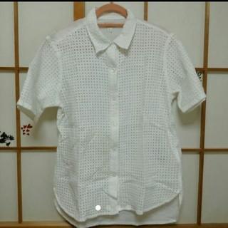 ギャップ(GAP)のGAP パンチングシャツ(シャツ/ブラウス(半袖/袖なし))