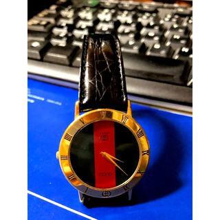 グッチ(Gucci)のグッチ GUCCI  3001M オールド シェリーラインク メンテナンス歴有(腕時計(アナログ))
