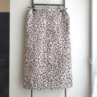 アーバンリサーチ(URBAN RESEARCH)のアーバンリサーチ レオパードタイトスカート(ひざ丈スカート)