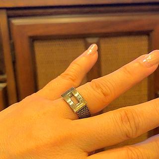 ゲス(GUESS)のguess シルバー製指輪10号(リング(指輪))
