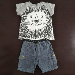 ニシマツヤ(西松屋)の【西松屋】Tシャツ 半ズボン 2点セット(Tシャツ/カットソー)