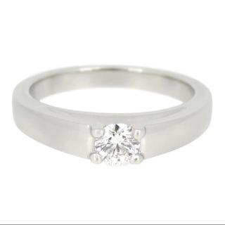 ブルガリ(BVLGARI)のブルガリ 高品質ダイヤモンド プラチナ リング GIA鑑定書付き(リング(指輪))