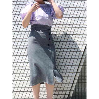 snidel - 定価以下 ❤️ スナイデル ラップ釦タイトスカート ラップタイトスカート ♡