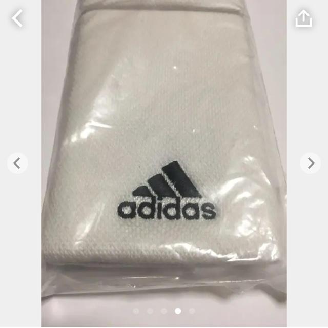 adidas(アディダス)のアディダス リストバンド スポーツ/アウトドアのテニス(その他)の商品写真