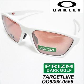 オークリー(Oakley)の☆新品☆ オークリー ターゲットライン プリズムダークゴルフ ホワイト(サングラス/メガネ)