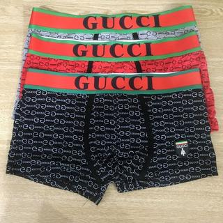 グッチ(Gucci)のボクサーパンツ グッチ 3点セット Mサイズ(ボクサーパンツ)