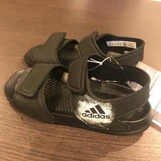 adidas - 【新品★タグ付き】adidas サンダル 黒 15cm