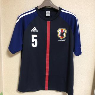 adidas - サッカー日本代表ユニフォーム 長友  ♯5 Lサイズ