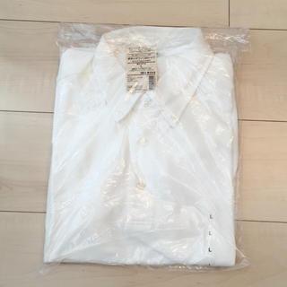 ムジルシリョウヒン(MUJI (無印良品))の[新品]無印良品★ボタンダウンポロシャツ メンズL(ポロシャツ)