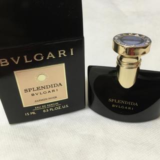 ブルガリ(BVLGARI)の新品 ブルガリ スプレンディダ  ジャスミン ノワール 15ml 香水(香水(女性用))