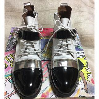 JEFFREY CAMPBELL - ☆レア☆未使用品☆ジェフリーキャンベル シューズ ショートブーツ☆サイズ42☆