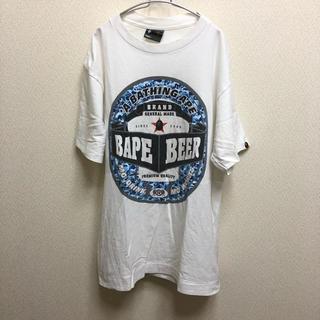 アベイシングエイプ(A BATHING APE)の専用 old A BATHING APE BAPE BEER 迷彩 Tシャツ M(Tシャツ/カットソー(半袖/袖なし))