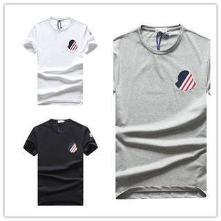 MONCLER - MONCLER Tシャツ 男女兼用 人気 各色あり