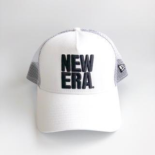 NEW ERA - NEWERA 9FORTY A-Frame トラッカー ビッグ ホワイト