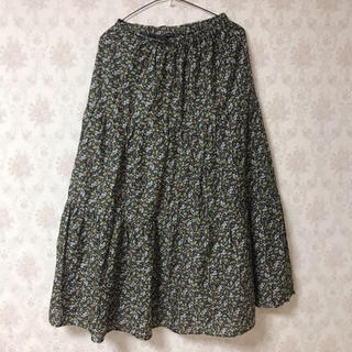 SM2 - SM2 花柄ティアードスカート
