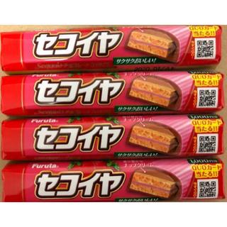 フルタセイカ(フルタ製菓)のセコイヤ チョコレート いちご 4本まとめ売り(菓子/デザート)