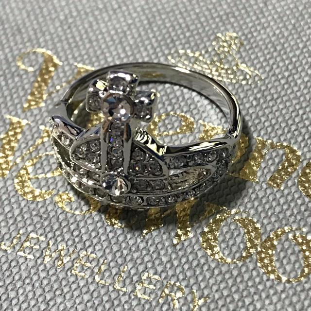 Vivienne Westwood(ヴィヴィアンウエストウッド)の即購入OK ストーン付きリング レディースのアクセサリー(リング(指輪))の商品写真