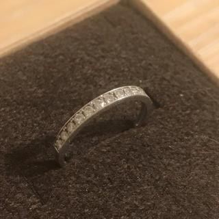 定価 ¥50,000  プラチナハーフエタニティーリング(リング(指輪))