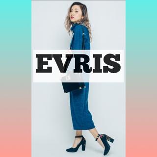 新品 エブリス EVRIS ボヘミアン パンプス 刺繍 エヴリス(ハイヒール/パンプス)