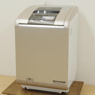 ヒタチ(日立)の美品 日立 洗濯乾燥機 BW-D9PV ビートウォッシュ 大容量9kg 送料無料(洗濯機)