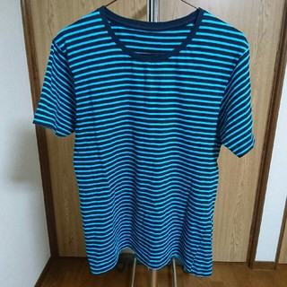GU - GU 半袖Tシャツ ブルー Sサイズ