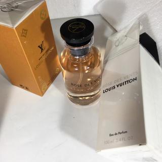 ルイヴィトン(LOUIS VUITTON)の新品 未開封 ルイヴィトン 香水 100ml 海外版ROSE DES VENTS(ユニセックス)
