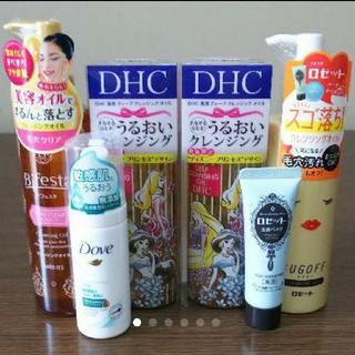 ディーエイチシー(DHC)の♡新品・未開封♡ クレンジングオイル 4本 ➕ 洗顔フォーム 2本(クレンジング / メイク落とし)