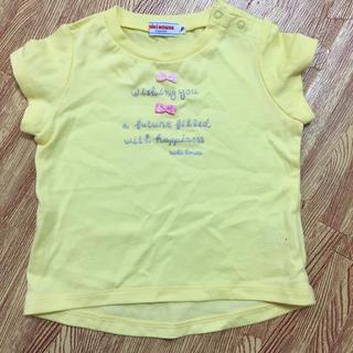 ミキハウス(mikihouse)のミキハウス新品かわいいTシャツ80(Tシャツ)
