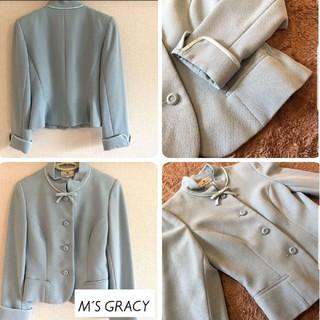 エムズグレイシー(M'S GRACY)の【M'S GRACY】《美品》 エムズグレイシー  ジャケット 《L》(テーラードジャケット)