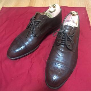 POLO RALPH LAUREN - イタリア製  ラルフローレン  セミブローグ   26.5cm 靴紐新品