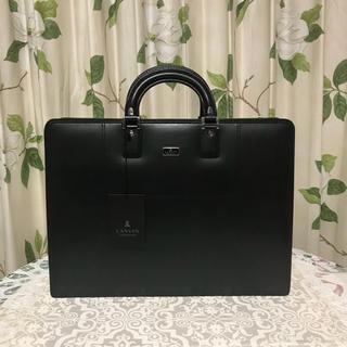 LANVIN COLLECTION - タグ付き新品♡LANVIN ランバン メンズ ビジネスバッグ ブリーフケース