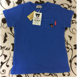 ミキハウス(mikihouse)の【新品・未使用】ダブルビー 半袖Tシャツ(80)(Tシャツ)