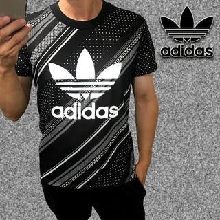 アディダス(adidas)の新品タグ付 アディダス Tシャツ サイズL ナイキ ステューシー ゲス フィラ(Tシャツ/カットソー(半袖/袖なし))