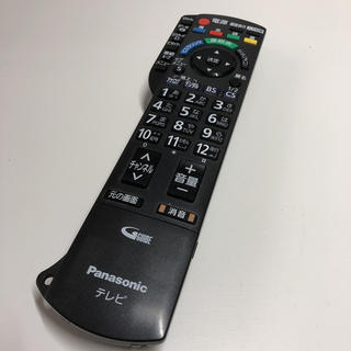 パナソニック(Panasonic)のPanasonic パナソニック テレビリモコン 菅b(その他)