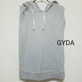 GYDA - GYDA ノースリパーカー