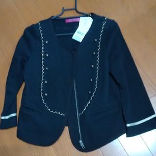 ドーリーガールバイアナスイ(DOLLY GIRL BY ANNA SUI)のANNA SUIドーリーガール七分袖のサマージャケット(ノーカラージャケット)