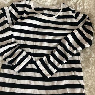 MUJI (無印良品) - 無印良品 クルーネック長袖tシャツ