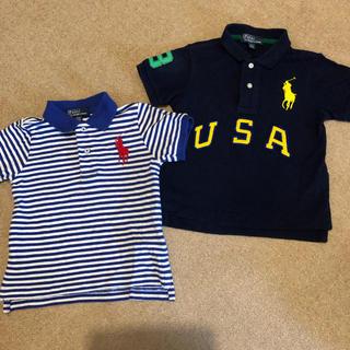 ポロラルフローレン(POLO RALPH LAUREN)のラルフローレン ポロシャツ 90  2枚セット(Tシャツ/カットソー)