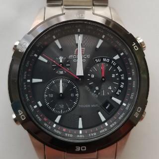 ce8b7b6853 エディフィス(EDIFICE)のCASIO EDIFICE EQW-560DB-1AJF 電波ソーラー(腕時計