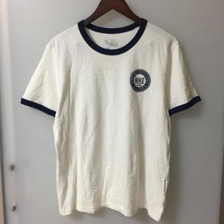 NIKE - メンズ 紳士 NIKE ナイキ 半袖 Tシャツ 白 ネイビー Mサイズ